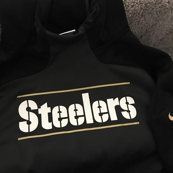 san francisco a926a 223c1 Nike Therma-Fit Steelers Hooded Sweatshirt